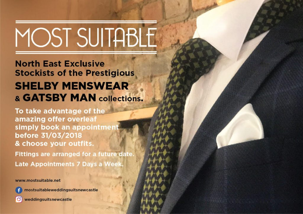Wedding Suits Newcastle Special Offer