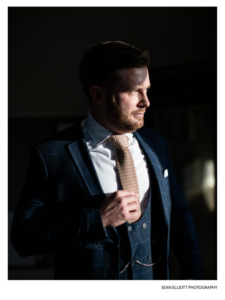 Garrick Porteous Wedding Suit Newcastle